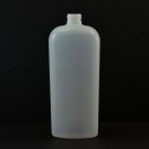 16 oz 24/410 Classic Oval Natural HDPE Bottle