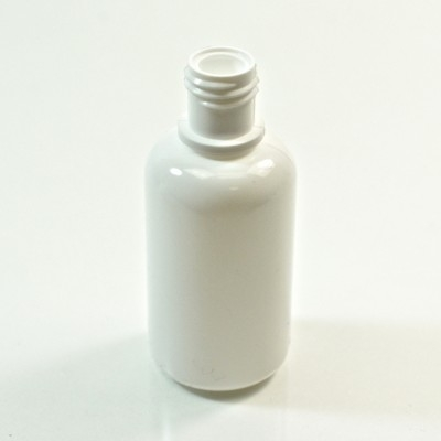 1 oz 15/415 Boston Round White LDPE Bottle