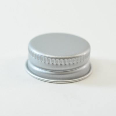 24/400 Aluminum Cap with PE Foam Liner