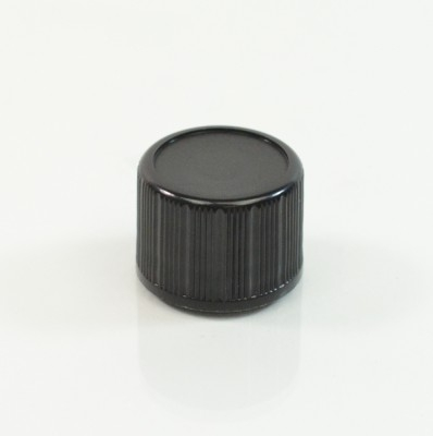 18-DIN Black Regular Vertical Dropper Cap