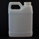 12 oz 33/400 F-Style Plastic Jug HDPE Natural