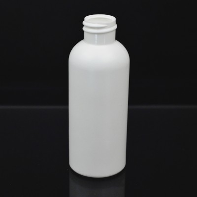 2 oz 20/410 Royalty Round White HDPE Bottle