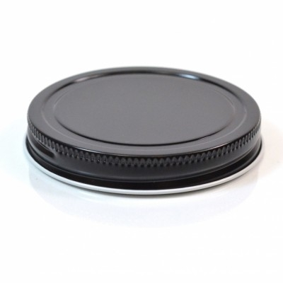 69/400 Black-Clear Metal Cap