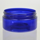 8 oz 89/400 Low Profile Cobalt Blue PET Jar