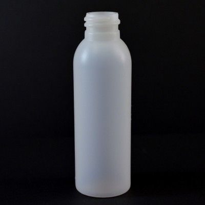 2 oz 20/410 Imperial Round Natural HDPE Bottle