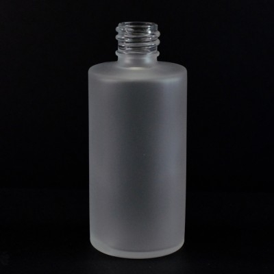 2 oz. 18/415 Roy Frosted Glass Bottle
