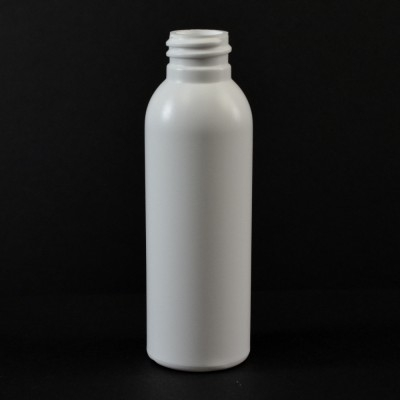 2 oz 20/410 Imperial Round Whtie HDPE Bottle