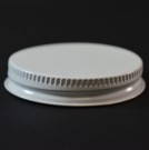 53/400 White-White Metal Cap