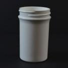 2 oz 43/400 Regular Wall Straight Base White PP Jar