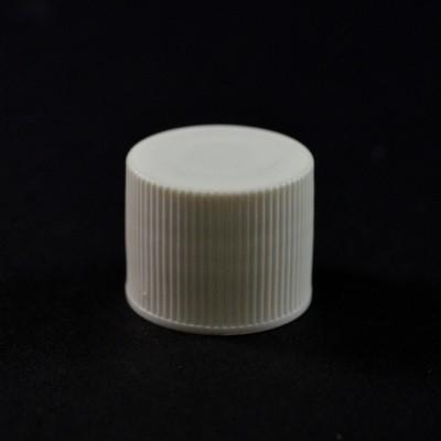 20/415 White Ribbed Millerighe PP Cap