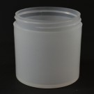 6 OZ 70/400 Thick Wall Straight Base Natural PP Jar - 198/Case