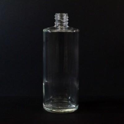 4 oz 20/415 Cylinder Clear Glass Bottle