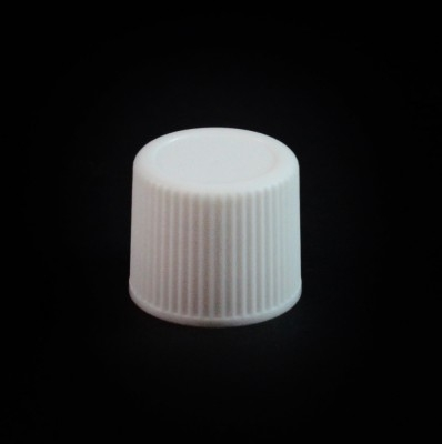 15/415 White Ribbed Straight PP Cap / F217 Liner