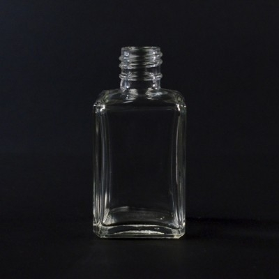 1.7 oz 20/415 Florence Square Clear Glass Bottle