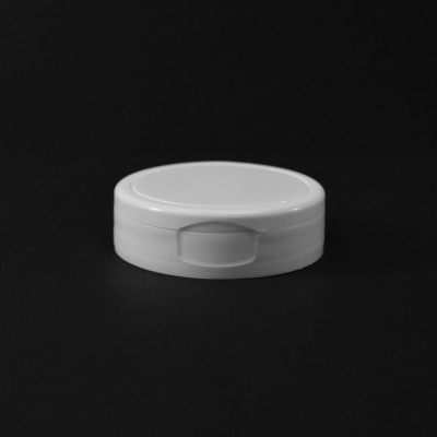 53/400 Smooth White Flip Top Dispensing PP Cap