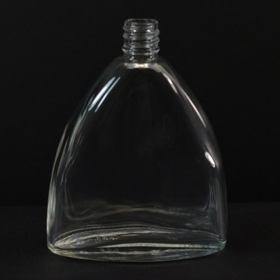 150 ml E5 Bell Oval Clear Glass Bottle