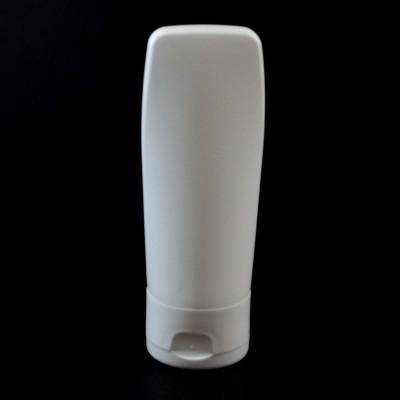 2 oz White Euro Tube Tottle 22/400 HDPE