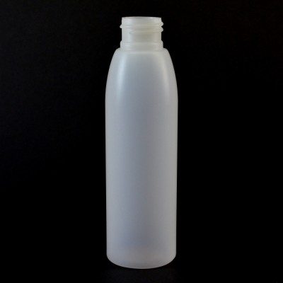 4 oz 24/410 Evolution Round Natural HDPE Bottle