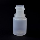 1/4 oz 15/415 Boston Round Natural HDPE Bottle
