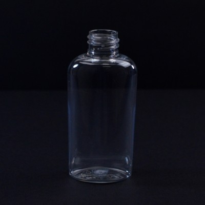 2 oz 20/410 Cosmoval Clear PET Bottle