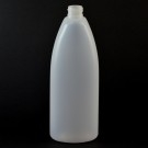 16 oz 24/410 Teardrop Oval Natural HDPE Bottle