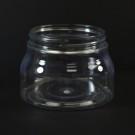 8 oz 70/400 Tuscany Clear PET Jar