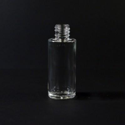 30 ml 18/415 Slim Cylinder Clear Glass Bottle