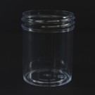 2 oz 48/400 Regular Wall Straight Base Clear PS Jar