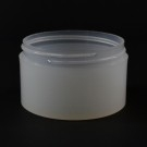 3 OZ 70/400 Thick Wall Straight Base Natural PP Jar - 280/Case