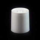 24/410 White Push Pull Reversible Dispensing Symmetrical Cap to 2 oz #224