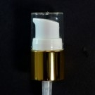 18/415 Treatment Pump Shiny Gold/White/Clear Hood