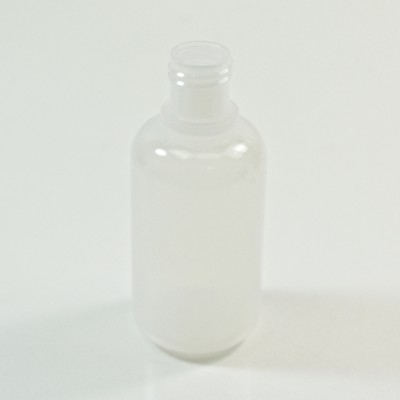 1 oz 15/415 Boston Round Natural HDPE Bottle