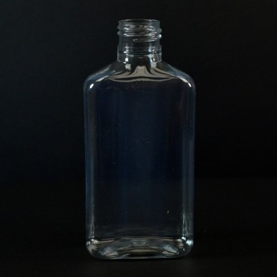 150 ml 24/410 Metric Oblong Clear PET Bottle