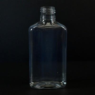 150 ml 24/410 Metric Oblong Clear PET Bottle