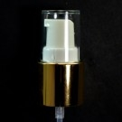 24/415 Treatment Pump Shiny Gold/White/Clear Hood
