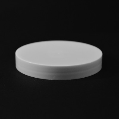 70/400 White Smooth Straight PP Cap / Unlined - 760/Case