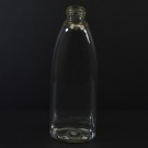 6 oz 24/410 Tear Oval Clear PETG Bottle
