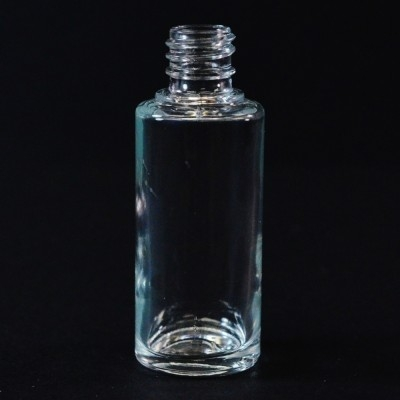 15 ml E4 Ronde Cylinder Clear Glass Bottle