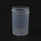 1 oz 38/400 Regular Wall Straight Base Natural PP Jar