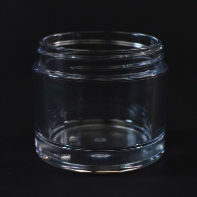 75 ML 58/400 Heavy Wall Clear PETG Jar