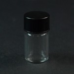 5/8 DRAM Screw Thread Clear Glass Vial 13/425
