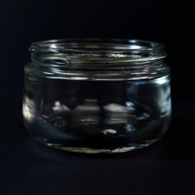 200 ML 83/400 Goutte Clear Glass Jar