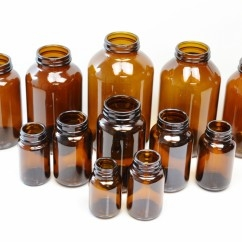 Amber Glass Pharmaceutical Packers