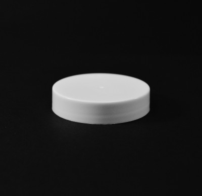 48/400 White Smooth Straight PP Cap / F217 Liner - 1700/Case
