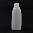 2 oz 20/410 Teardrop Oval Natural HDPE Bottle