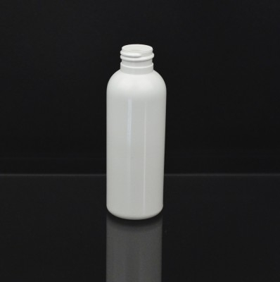 4 oz 24/410 Royalty Round White HDPE Bottle