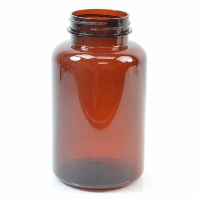 300 cc 45/400 Amber Nutritional Supplement PET Packer - 135/case