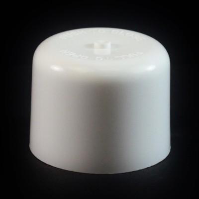 24/410 White Push Pull Soft Radius Dispensing Symmetrical Cap to 8 oz #221