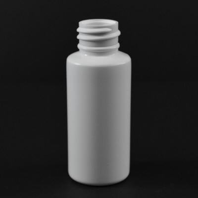 1 oz 20/410 Tall Cylinder Round White HDPE Bottle