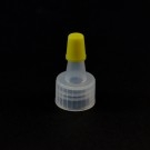 15/415 Ribbed Natural Yorker Dispensing Cap PP